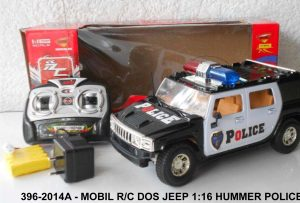 Mobil Rc Dos Jeep 1-16 RC Hummer Police