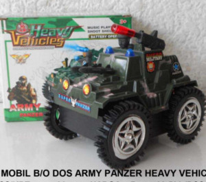 Mobil B/O Dos Army Panzer Heavy Vehicles